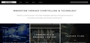 breel top class web design firm homepage