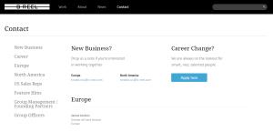 breel top class web design firm contact