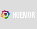 huemor awesome web design logo