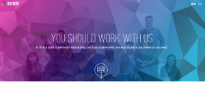 huemor word class web design about us