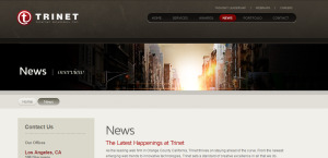 trinet impressive web design firm news