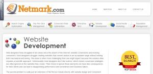 netmark expert web design firm web development