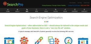 searchprosystems supreme web design firm SEO