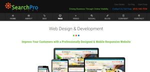 searchprosystems supreme web design firm services