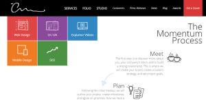 the creative momentum awesome custom web design about