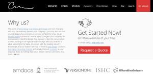 the creative momentum awesome custom web design contact us