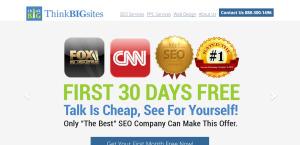 thinkbigsites high grade web design homepage