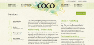 coco great web design firm services