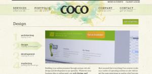 coco great web design firm design services