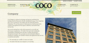 coco great web design firm design about us
