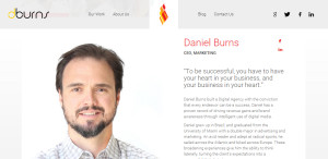dburns optimum web design firm ceo