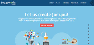 image works creative great custom web design firm homepage