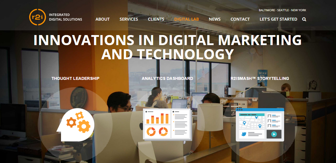 r2integrated exceptional web design firm digital lab