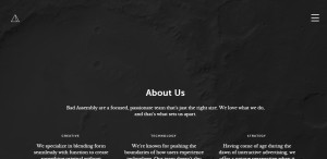 bad assembly great responsive web design about us