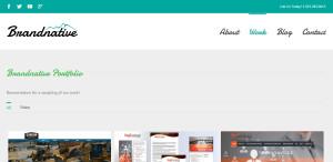 brandnative excellence in web design work