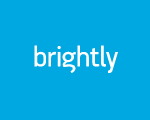 brightly excellent web design firm logo