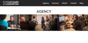 customer magnetism superb seo web design agency
