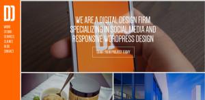 daddy design superior custom web design homepage