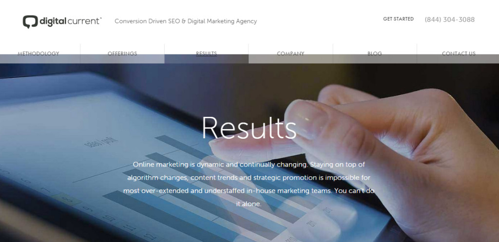 digitalcurrent best web design firm work