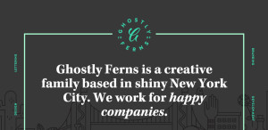ghostly ferns amazing responsive web design homepage