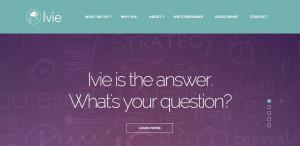 ivie superior custom web design homepage