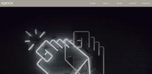knock inc innovative responsive web design homepage