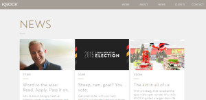 knock inc innovative responsive web design news
