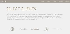 knock inc innovative responsive web design clients