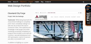 leadtoconversion outstanding web design firm portfolio