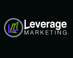 leverage marketing best design company logo