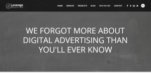 leverage marketing best design company advertising