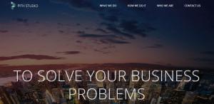 pithstudio best web firm homepage