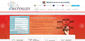 seo valley awesome seo web design homepage