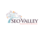 seo valley awesome seo web design logo
