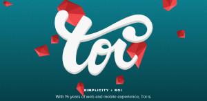 toi top class responsive web design homepage