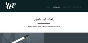 toi top class responsive web design work