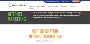 webfullcircle top design firm internet marketing