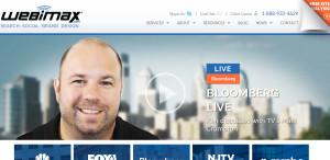 webimax first class web design homepage