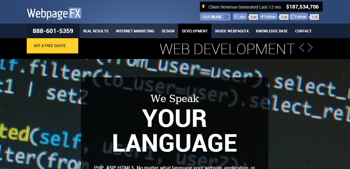 webpagefx best web firm web development services