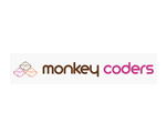 monkey coders elite web design logo