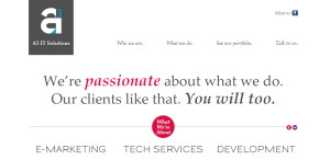 a3its web design firm homepage