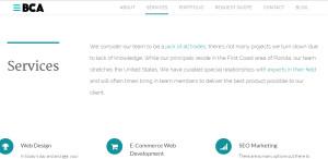 bold city web design firm services