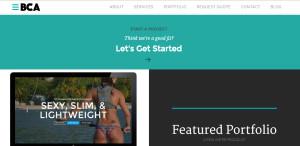 bold city web design firm portfolio