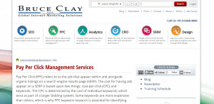 bruceclay supreme web design company PPC Management