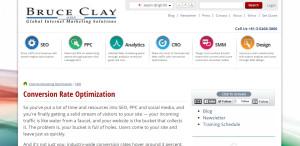 bruceclay supreme web design company conversion rate optimisation