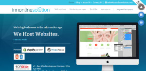 innonlinesolution great web design firm homepage