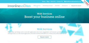 innonlinesolution great web design firm services