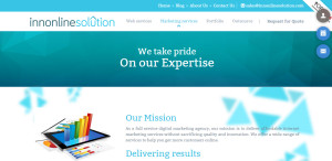innonlinesolution great web design firm mission
