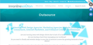 innonlinesolution great web design firm outsource