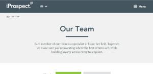 iprospect remarkable web design firm team